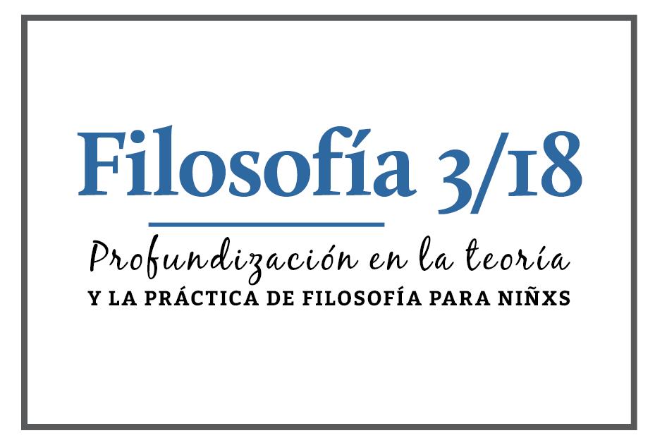 Mayo: Curso de Profundización en Filosofía 3/18 (VIRTUAL)